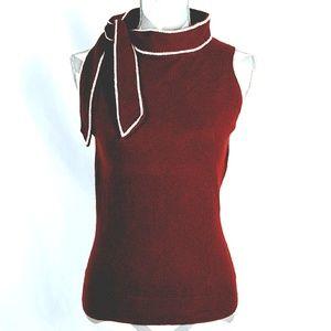 HWR Anthropologie Wool Cashmere Sleeveless Sweater